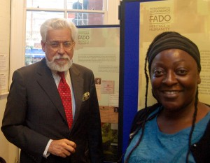 Fado evening- Portuguese ambasador & Maria Kwofie