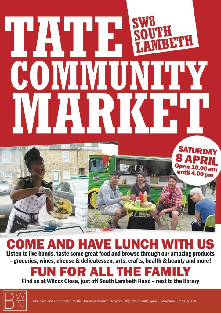 Poster - Tate Community Market